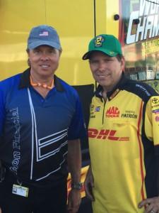 Drivers Bill Litton and Del Worsham
